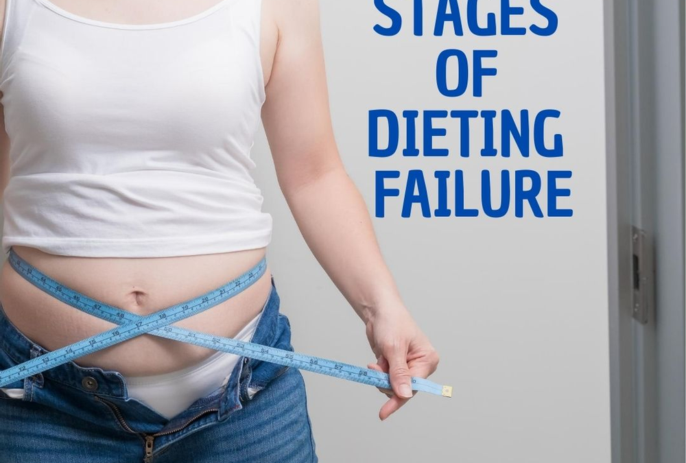 The 5 Stages of Dieting Failure